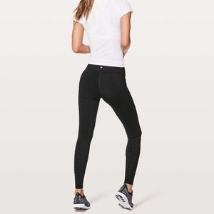 """Lululemon Perf-ect Your Pace Tight 28"""" size 6 NWOT"""